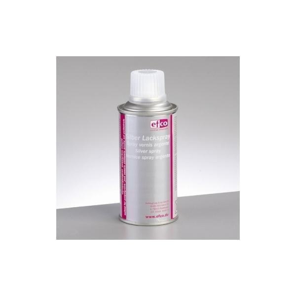 Spray couleur Argenté, Bombe aérosol adaptée au polystyrène, 150 ml - Photo n°1