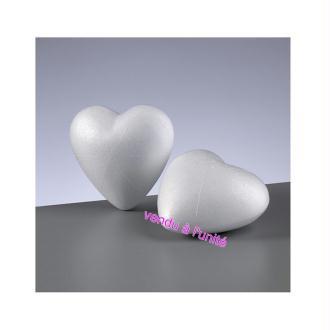 Coeur 3D en polystyrène 9 cm, densité supérieure