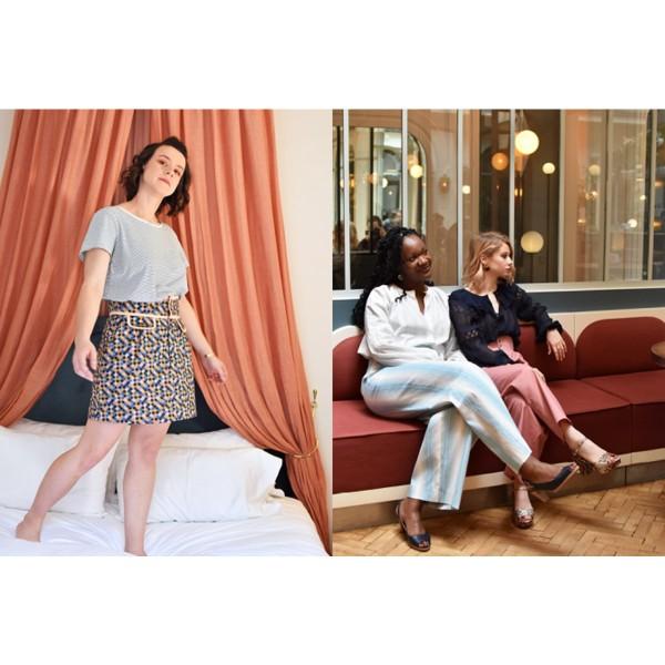 Livre couture - Les cahiers Artesane N°4 - Drôles de femmes - Photo n°3