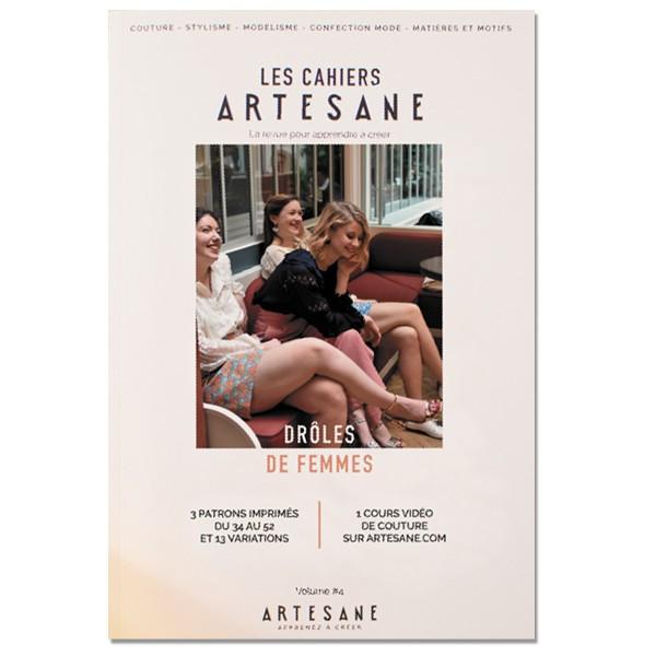 Livre couture - Les cahiers Artesane N°4 - Drôles de femmes - Photo n°1