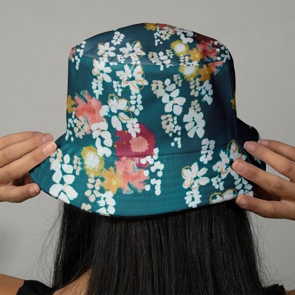 Tissu coton Frou Frou - Glycine Bora Bora - Vendu par 10 cm - Photo n°2