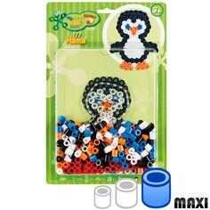 Mini Kit Perles Hama Maxi- Pingouin - 250 perles environ