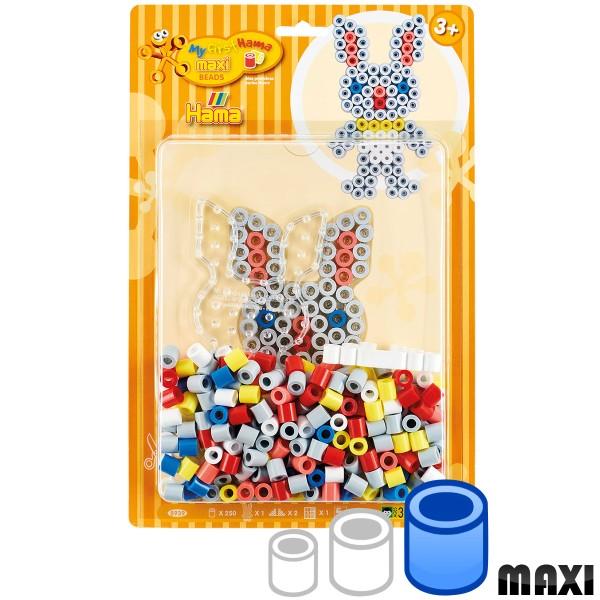 Mini Kit Perles Hama Maxi- Lapin - 250 perles environ - Photo n°1