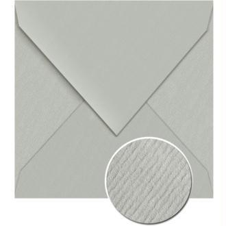 Enveloppe doublée Vergé de France 140 x 140 Gris souris x 25