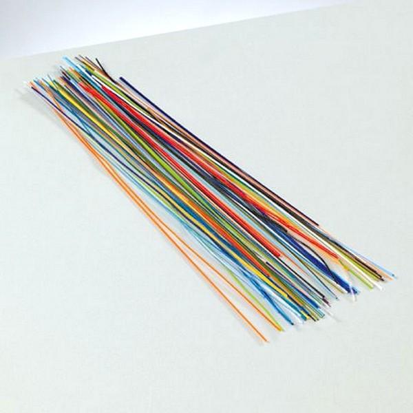 Emaillage au fil, couleurs assorties, 10 gr, long. 15 à 17 cm, pour cuisson 780°C-850°C - Photo n°2
