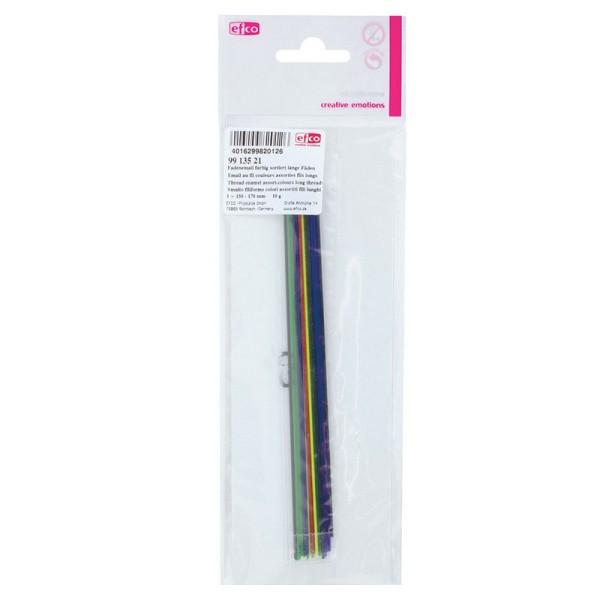 Emaillage au fil, couleurs assorties, 10 gr, long. 15 à 17 cm, pour cuisson 780°C-850°C - Photo n°3