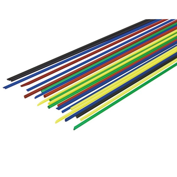 Emaillage au fil, couleurs assorties, 10 gr, long. 15 à 17 cm, pour cuisson 780°C-850°C - Photo n°1