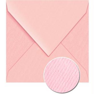 Enveloppe doublée Vergé de France 140 x 140 Eglantine x 25