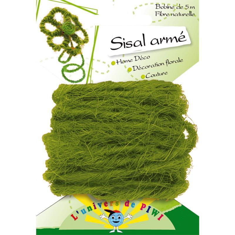 corde sisal arm vert clair x 5 m sisal corde creavea. Black Bedroom Furniture Sets. Home Design Ideas