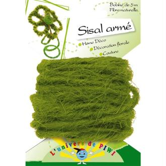Corde Sisal armé Vert clair x 5 m