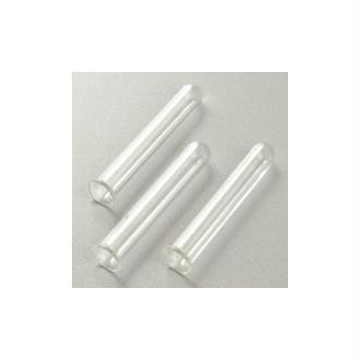 Lot de 3 petits Tubes à essai soliflores en verre, hauteur 7,5 cm, diam. 1cm