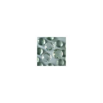 Galet Nuggets de verre plein et lisse coloré de 18 à 20 mm, ép. 8 à 10 mm, 100 g