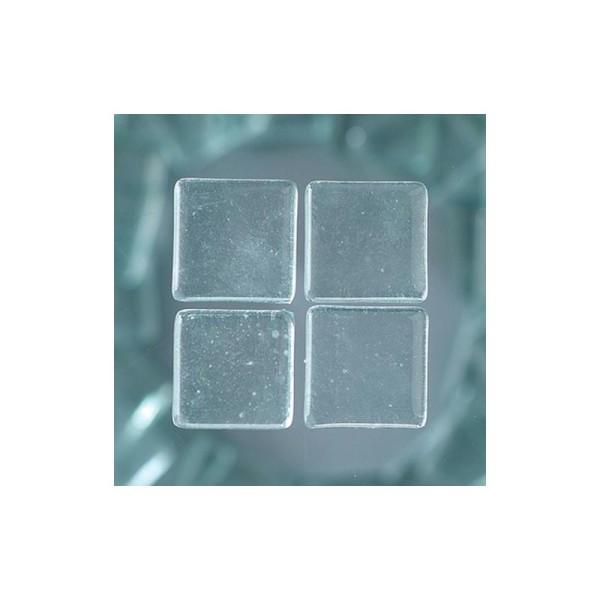 Mosaique Cailloux en verre, 2cm x 2cm, 200 g, env. 40 pièces - Photo n°1