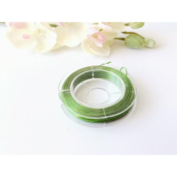 Fil élastique vert 0.5 mm x 10 m environ - Photo n°2
