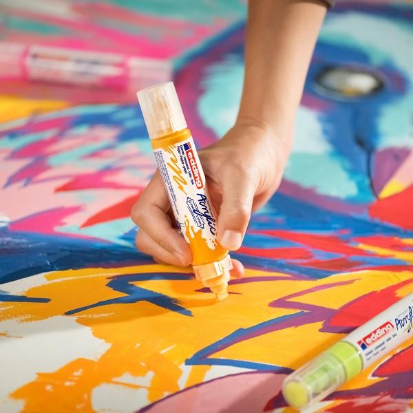 Marqueur Acrylic Edding 5400 - Double Pointe - Plusieurs coloris disponibles - Photo n°3