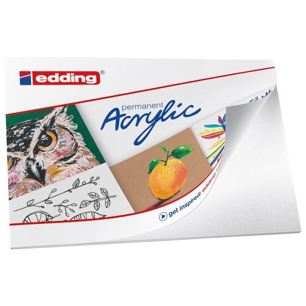 Set de marqueurs Acrylic Edding - Pack Créatif Basic - 12 pcs - Photo n°4