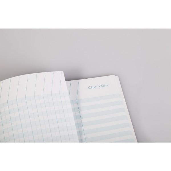 Cahier de bord pour enseignant, A4, 48 pages - Couleur aléatoire - Photo n°3