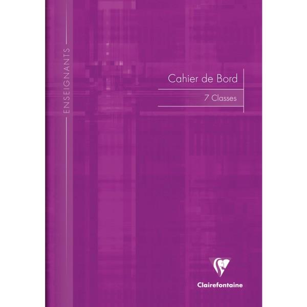 Cahier de bord pour enseignant, A4, 48 pages - Couleur aléatoire - Photo n°1