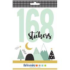 Carnet de Stickers Noël - Imagine Christmas - 168 pcs