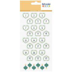 Stickers Puffies XL Noël - Beary Christmas - 2,7 cm - 30 pcs