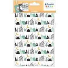 Carnets de notes - Imagine Christmas - 14,7 x 10,8 cm - 3 pcs