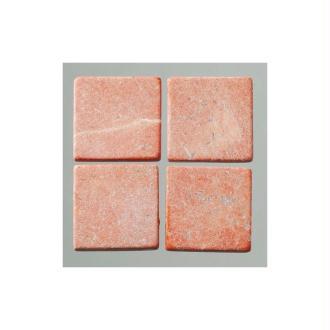 Env. 205 Pierres naturelles taillées, 1 cm x 1 cm, 200 g, Coul. Rouge