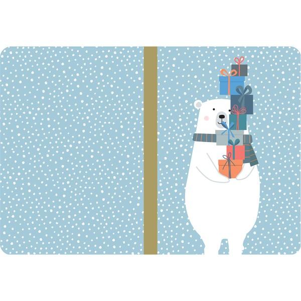 Carnets de notes - Beary Christmas - 14,7 x 10,8 cm - 3 pcs - Photo n°3