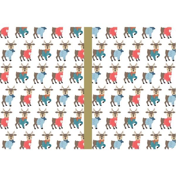 Carnets de notes - Beary Christmas - 14,7 x 10,8 cm - 3 pcs - Photo n°4