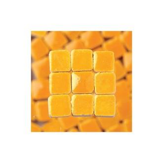 Mini mosaïque Carrée avec glaçure, Tesselle 5x5 mm, hauteur 3 mm, 100 pièc
