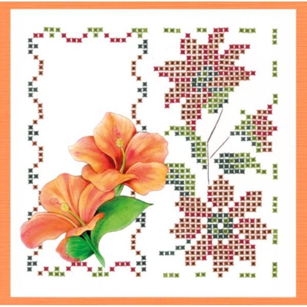 Kit Sparkles Set 53 - Fleurs exotiques - Photo n°4