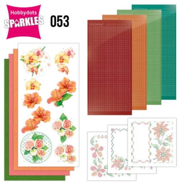 Kit Sparkles Set 53 - Fleurs exotiques - Photo n°1