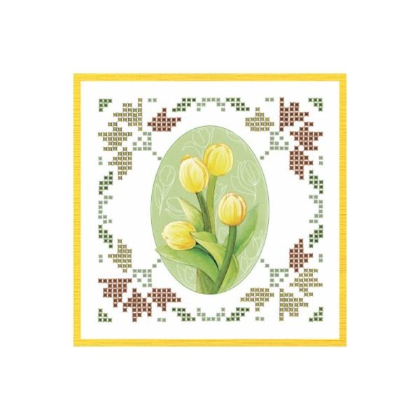 Kit Sparkles Set 52 - Fleurs jaune orangé - Photo n°2