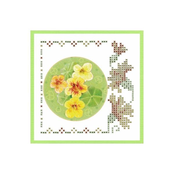 Kit Sparkles Set 52 - Fleurs jaune orangé - Photo n°4