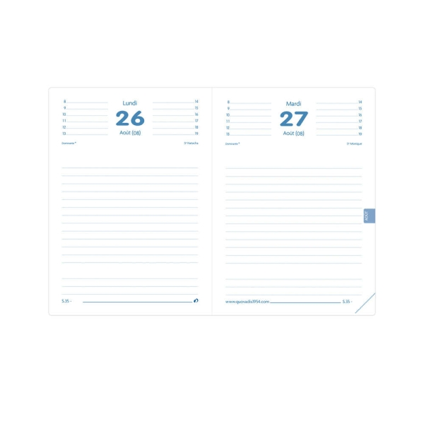 Textagenda scolaire Impala 2021/2022 - Noir - Photo n°1