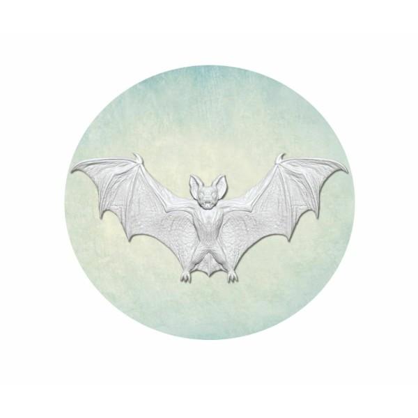 1 pc Chauve-Souris Vampire Grand 2 3d Silicone Gothique Halloween Uv Époxy Résine Moule Argile Scrap - Photo n°1