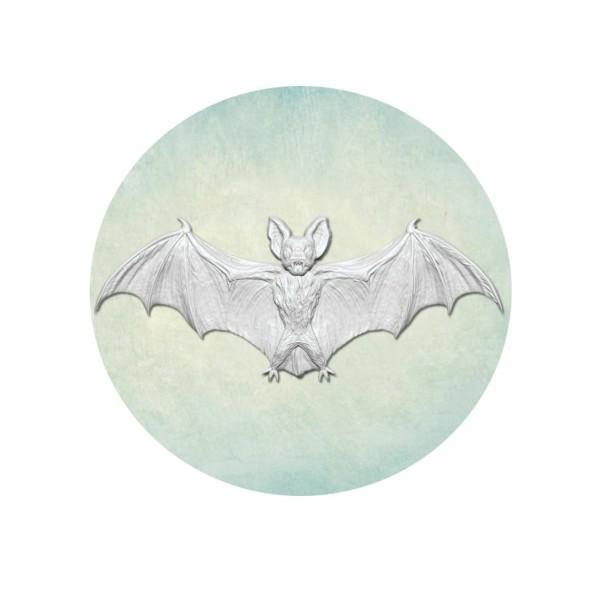 1 pc Chauve-Souris Vampire Grand 3 3d Silicone Gothique Halloween Uv Époxy Résine Moule Argile Scrap - Photo n°1