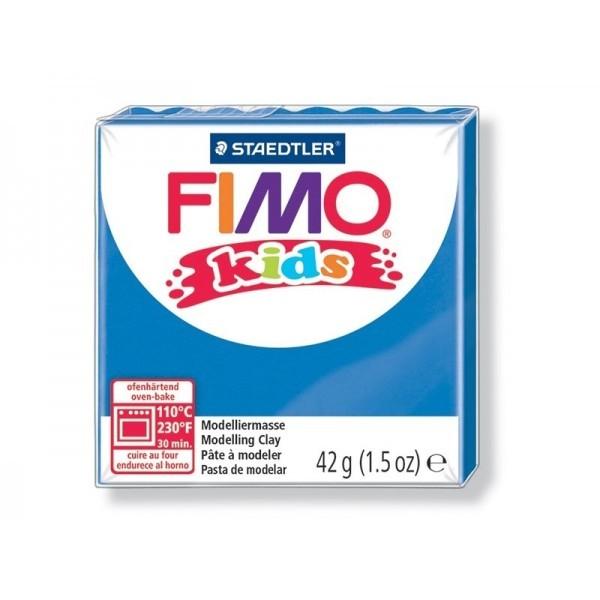 Pain Pate Fimo Kids Bleu 42gr 8030-3 MODELAGE - Photo n°1