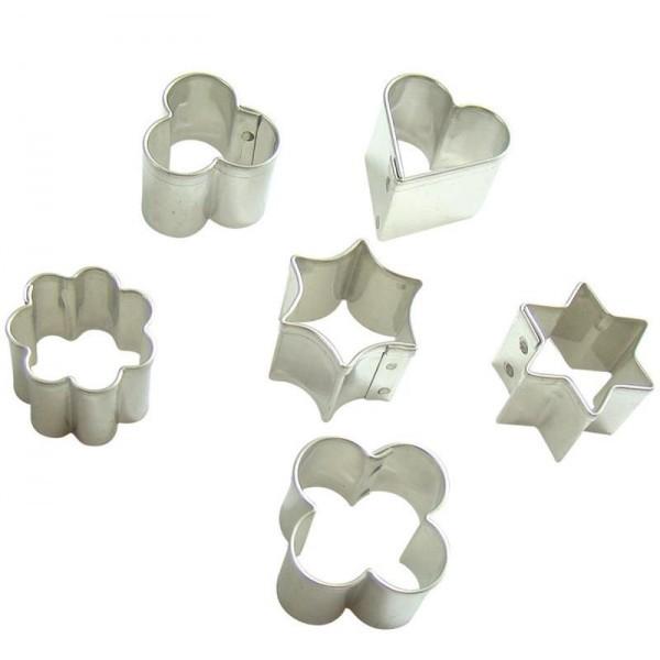 Lot de 6 mini emporte pièces Graine créative DTM 265025 - Photo n°1