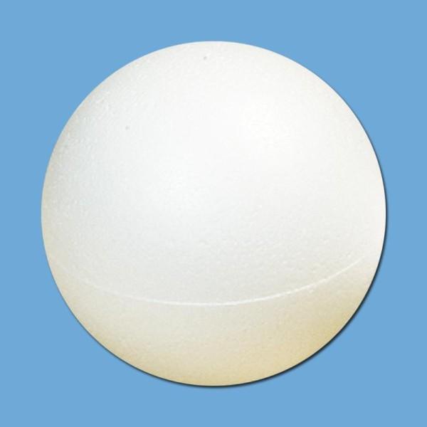 Boule polystyrène - 7,5 cm - Photo n°1