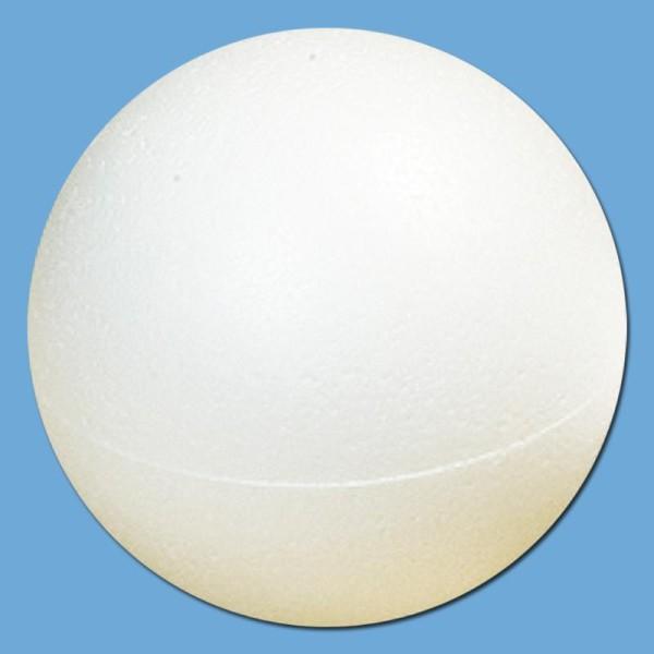 Boule polystyrène 10 cm - Photo n°1