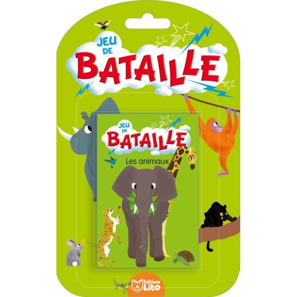 Jeux de bataille - Les animaux -  Editions LITO - Photo n°1