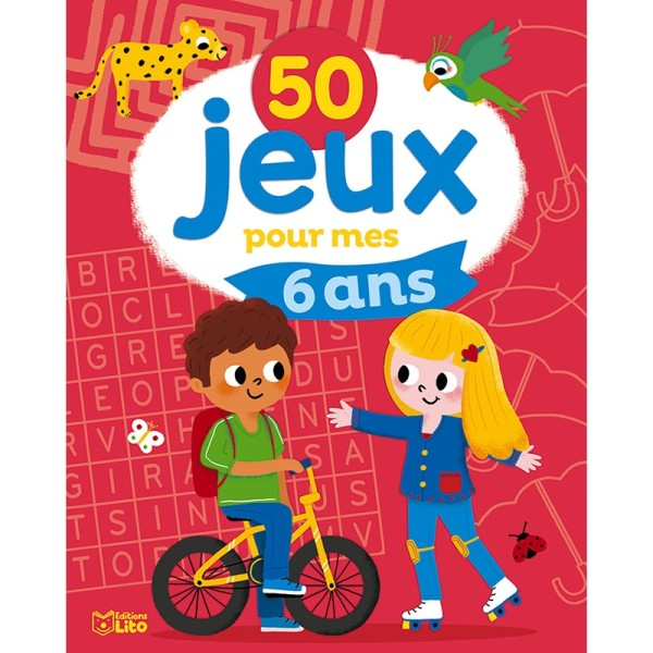 50 jeux pour mes 6 ans - Editions LITO - Photo n°1