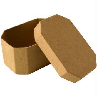 Boîte en carton octogonale 10 cm