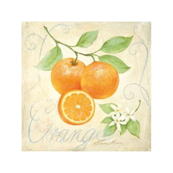 Image 3D - FP99225 - 30x30 - Oranges - Photo n°1