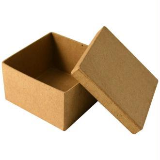 Boîte en carton carrée 8,5 cm