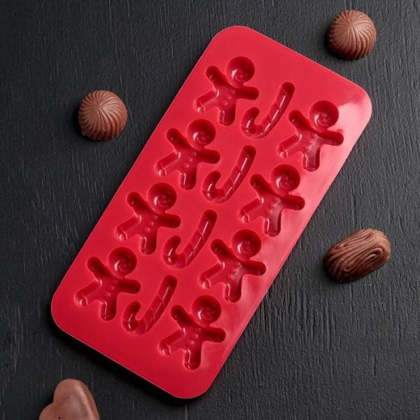 2 pcs Silicone Moule pour glace, chocolat