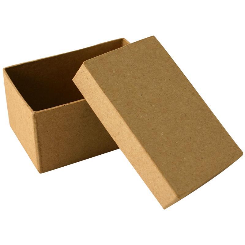 Bo te en carton rectangle 10 cm boite en carton - Decorer boite carton pour anniversaire ...