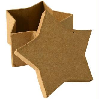 Boîte en carton étoile 8 cm