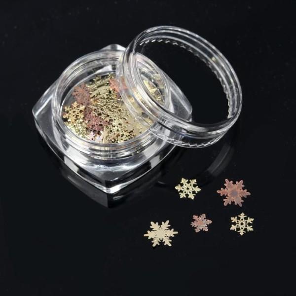 Éléments de décoration en métal pour Nail Art