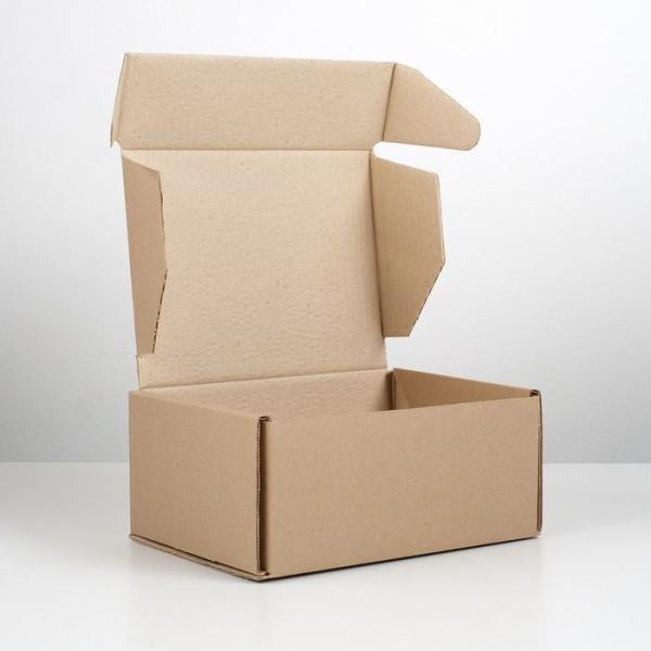 11 Pièces, papier, avec, emballage, Kraft, pour, carton, auto-assemblé, boîte, 22x16. 5x10 cm, boîte - Photo n°3